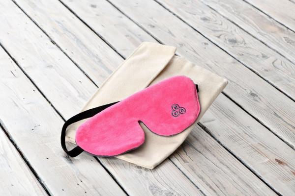 Bio Schlafmaske Daydream Pink