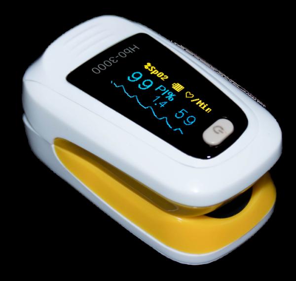 Fingerpulsoxymeter- Hb0-3000